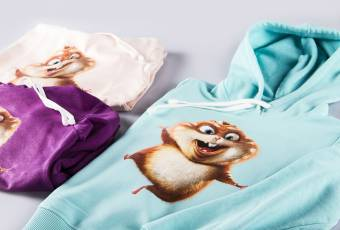 "Kids hooded sweatshirts ""Hamster"""