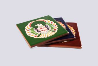 Golden Eagle ceramic tile