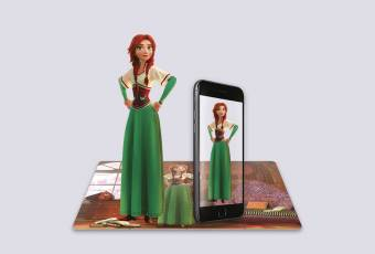 Augmented Reality Puzzle «Beautiful Princess»