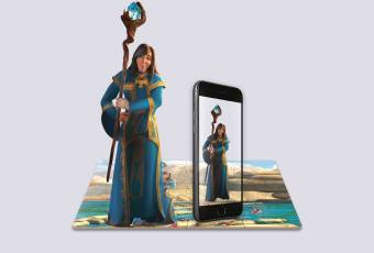 Augmented Reality Puzzle «Good Wizard»