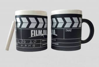 Clapperboard FILM.UA Mug and with Chalk