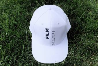 FILMMAKER Baseball Cap by FILM.UA Studios, white