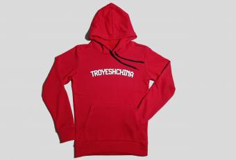 The stylis TROYESHCHINA hoodie, red
