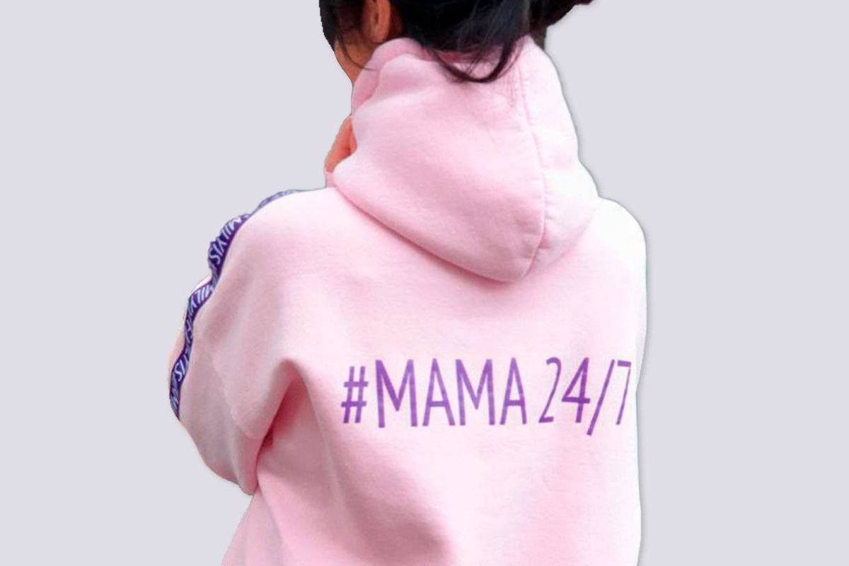Family Is Woman`s Hoodie #mother 24/7