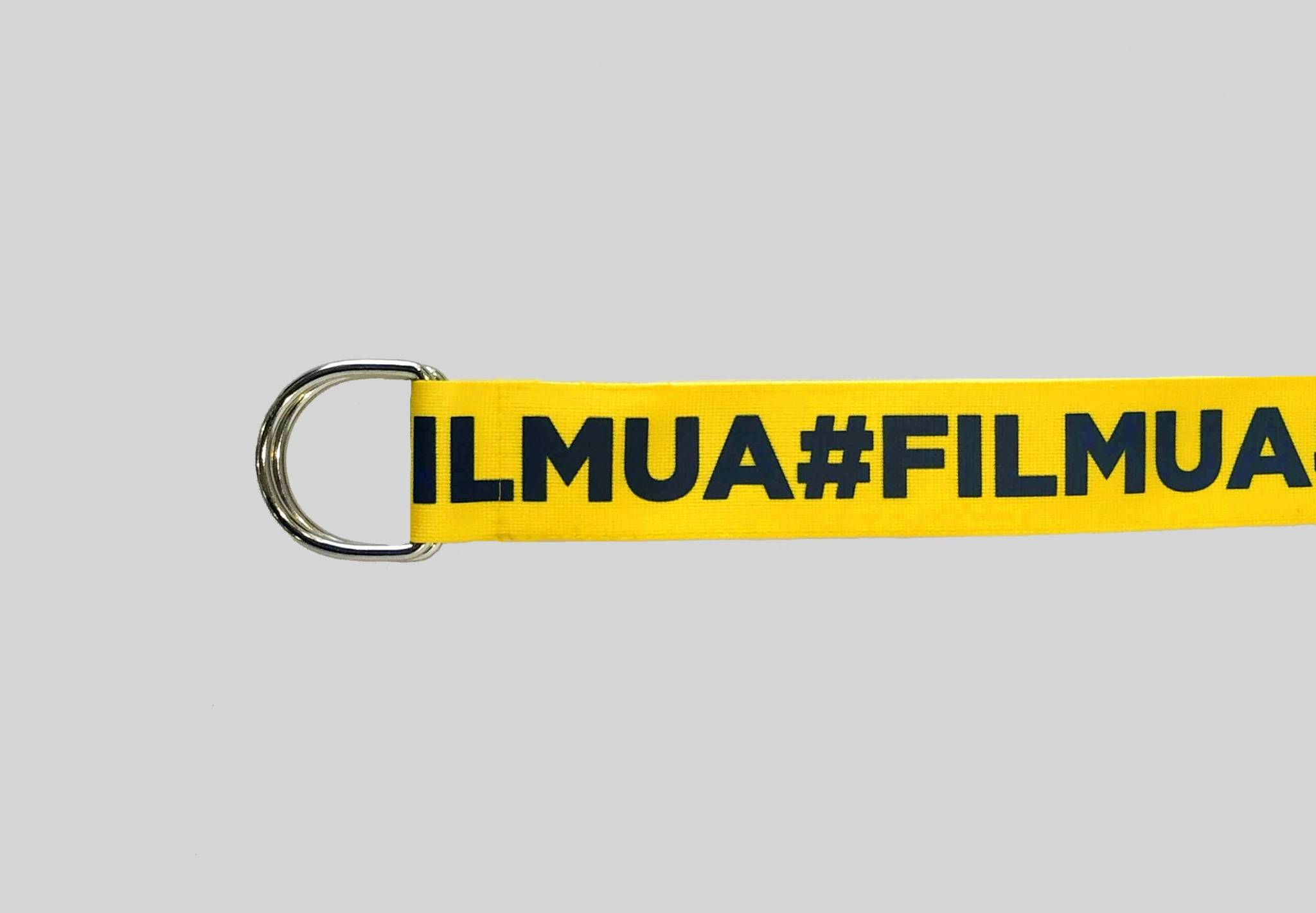 Yellow and  Black #FILMUA Trendy Belt