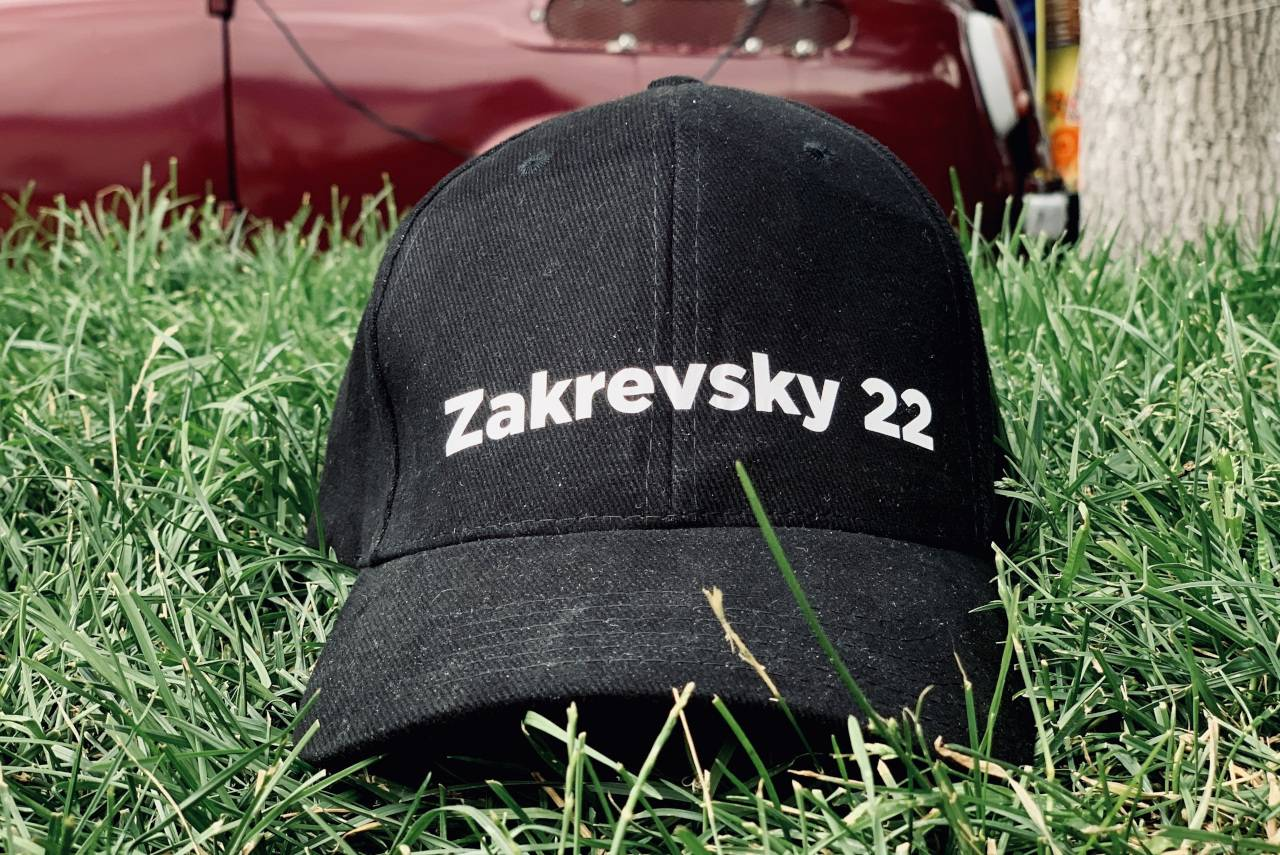 ZAKREVSKY Baseball Cap by FILM.UA Studios, black